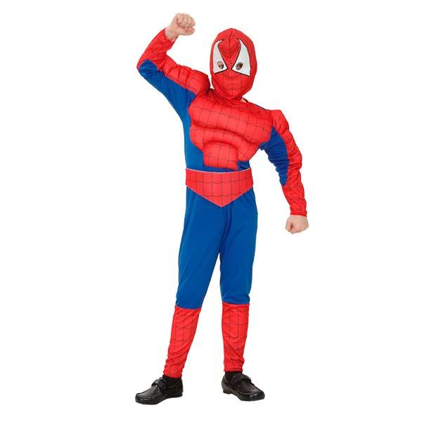 Disfraz spiderman hombre araña niño
