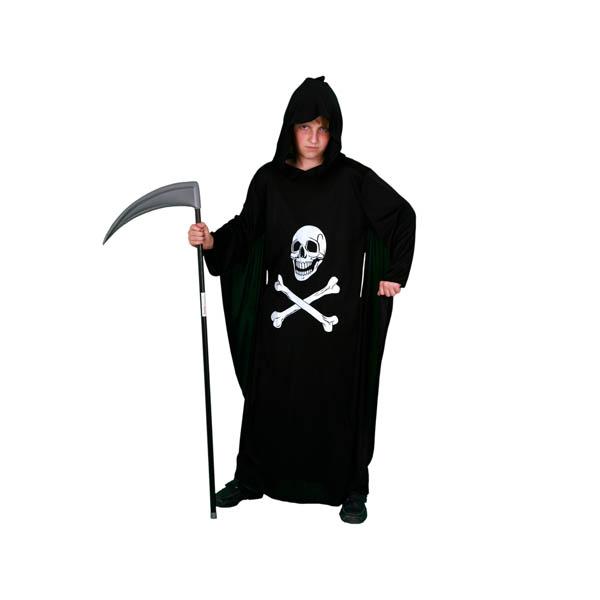 Disfraz túnica de la muerte para niño