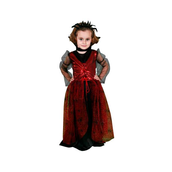 Disfraz de Vampiresa Arácnida para niña