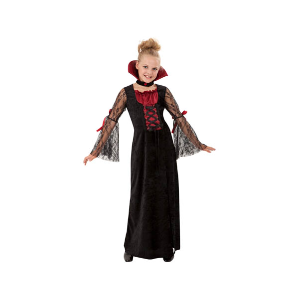 Disfraz de vampiresa para niña