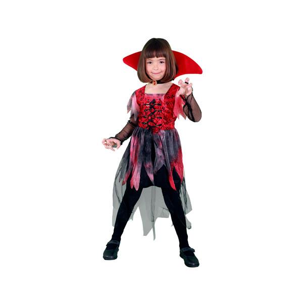 Disfraz vampiresa gótica para niña