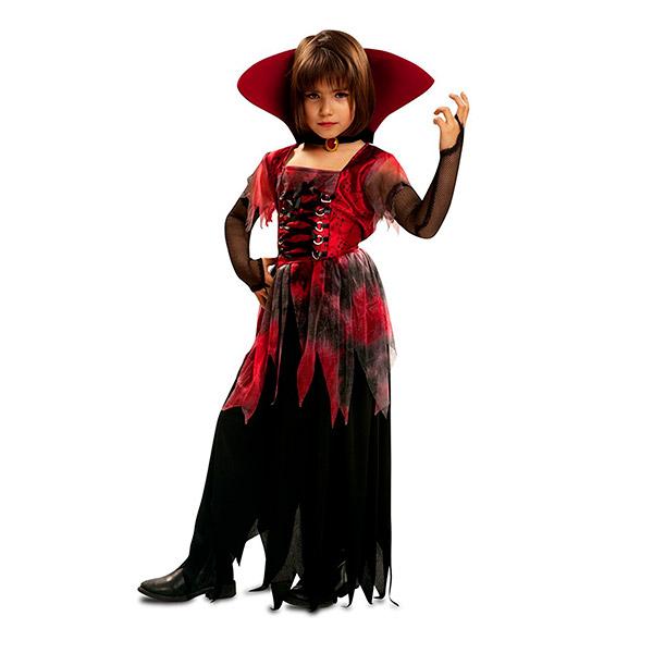Disfraz de Vampiresa gótica para niña