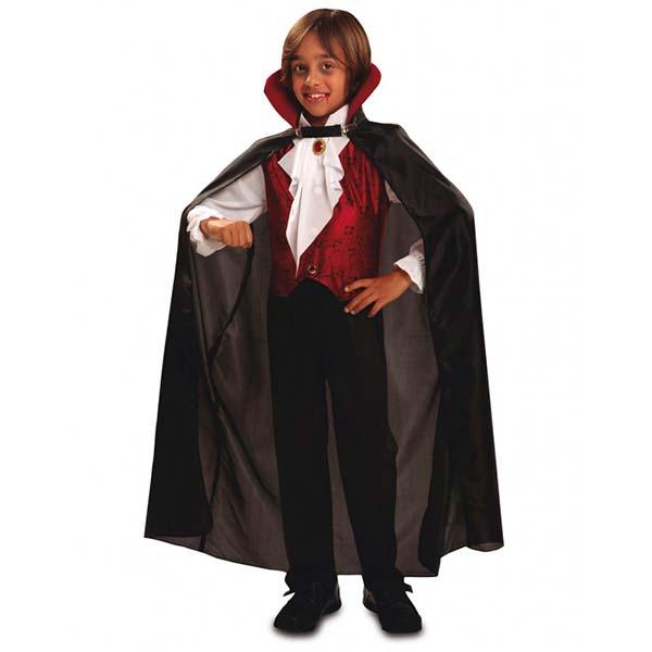 Disfraz de vampiro gótico Drácula para niño