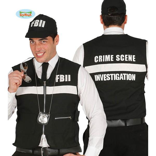 Guirca - Chaleco y gorra de policía