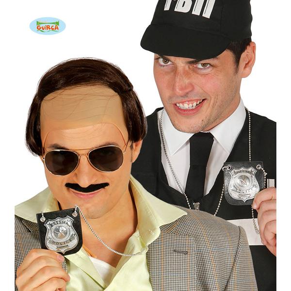 Guirca - Placa de policia colgante