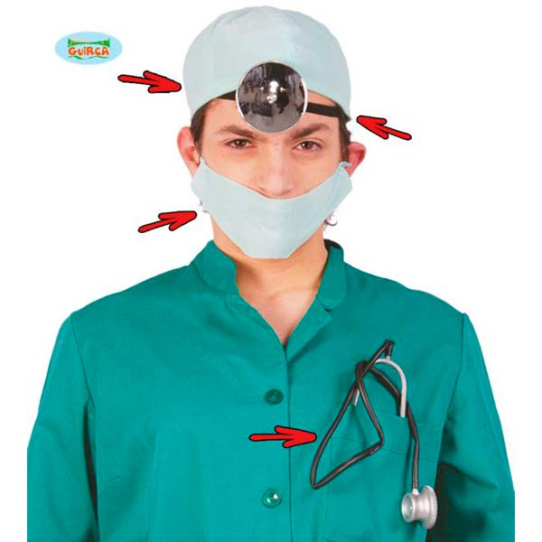 Kit de doctor para adulto