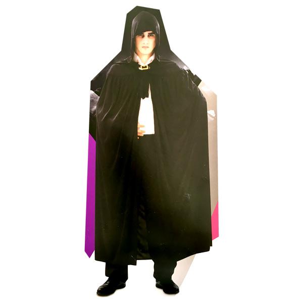 Mom - Capa negra con capucha