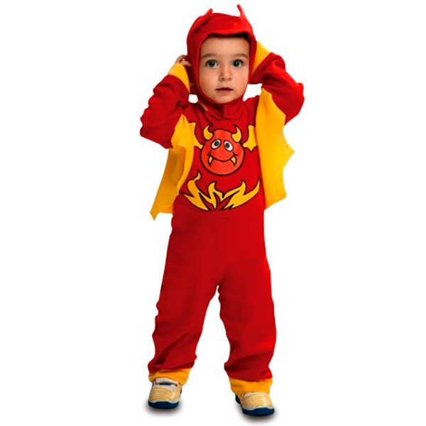 MOM-Disfraz diablo rojo para niño