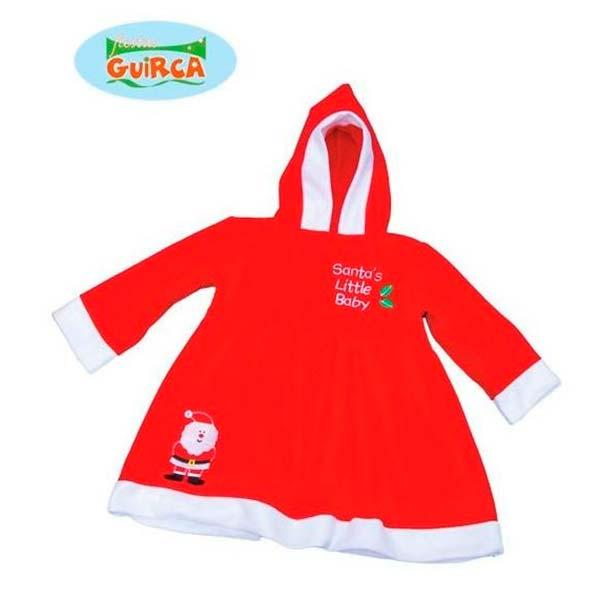 Vestido de Mamá Noel para bebé